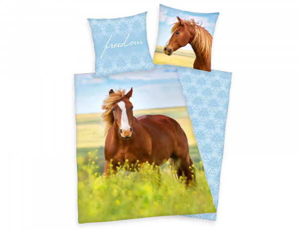 Herding Wendebettwäsche Pferd freedom