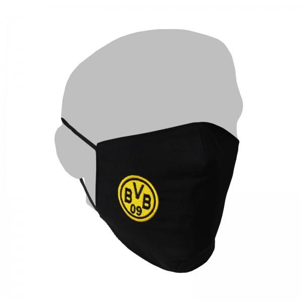 BVB Behelfs-Gesichts-Maske mit BVB Logo