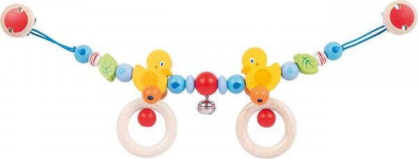 Gollnest & Kiesel Kinderwagenkette Ente mit Clips