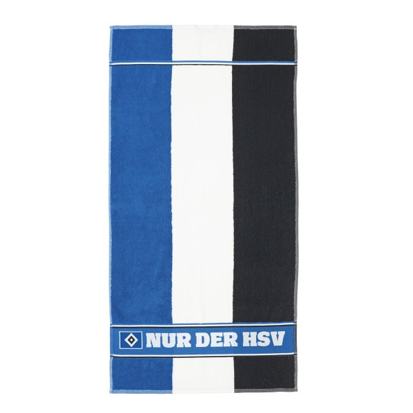 HSV Fan-Handtuch Blockstreifen