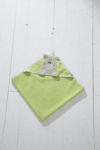 Morgenstern Kapuzenlaken Hippo grün