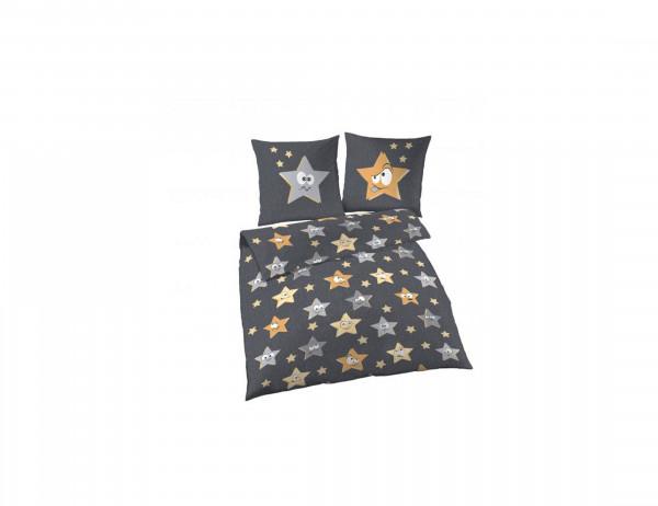 Kinderbettwäsche Sterne