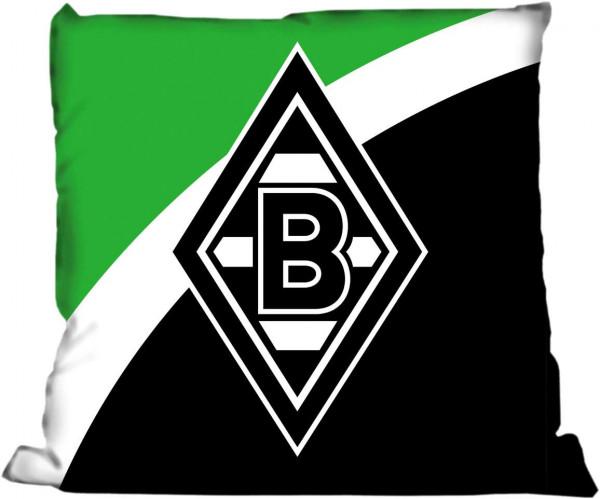 """Kuschelkissen Borussia Möchengladbach """"Schrägstreifen"""""""