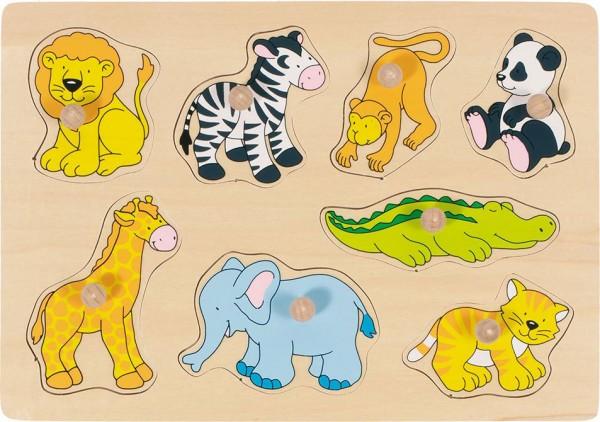 Gollnest & Kiesel Steckpuzzle Zootiere