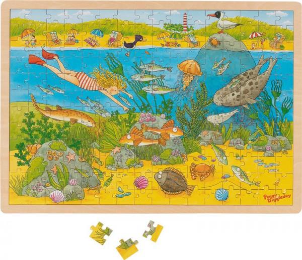 Gollnest & Kiesel Hintergrundbildpuzzle Unterwasserwelt, Peggy Diggledey