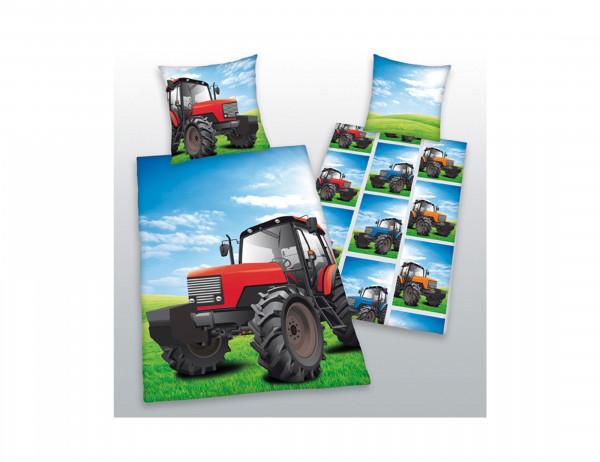 Herding Kinderbettwäsche Traktor