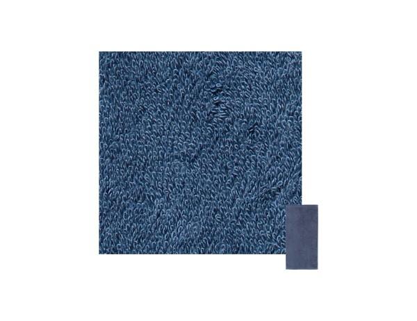 Cawö Handtuch, uni, blau, 50x100cm, reine Baumwolle, Frotiier