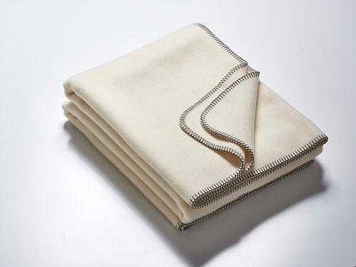 Die Decke - wollweiß