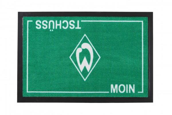 Werder Bremen Fußmatte Haustür Moin