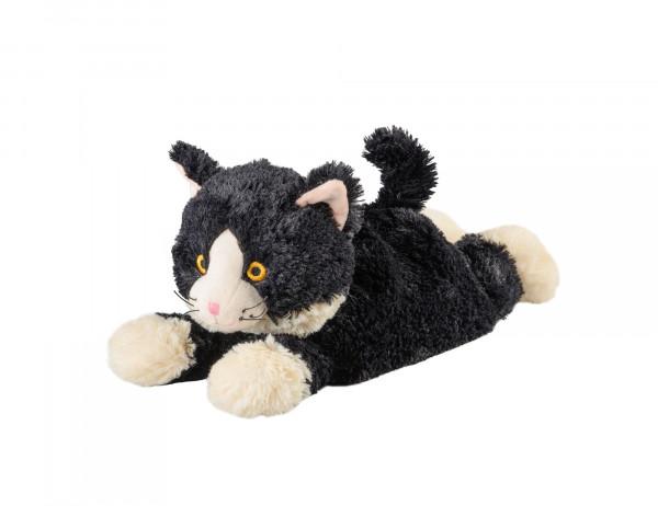 Warmies Wärmekuscheltier Katze liegend