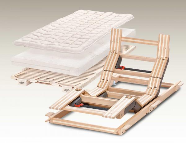 Hüsler Nest Komplettsystem Liforma 4-Mot Sitz/Beinhochstellung