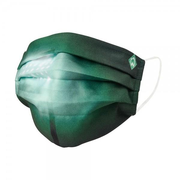 SV Werder Bremen Behelfs-Maske Flutlicht