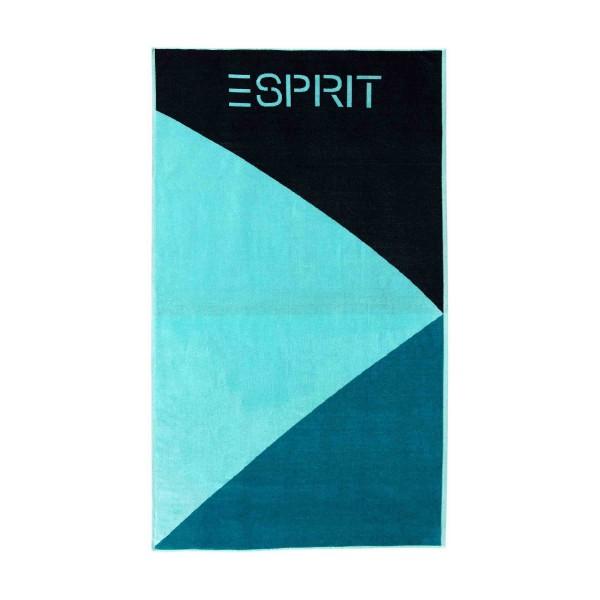 Esprit Strandtuch Sail Beach turquoise - 002 100x180 cm