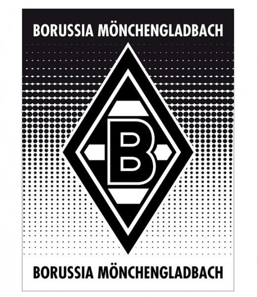 Borussia Mönchengladbach Coral - Fleecedecke Punkteverlauf