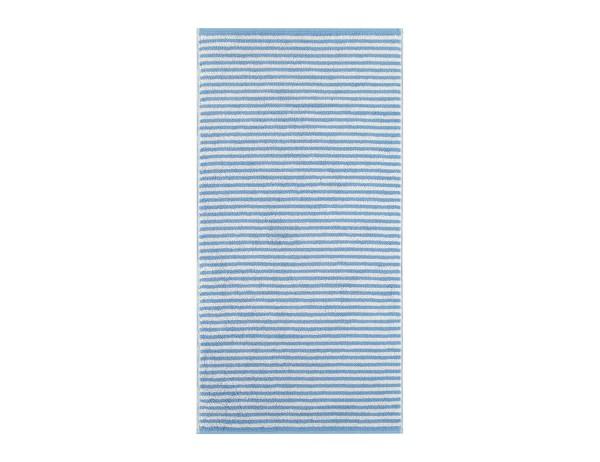 CAWÖ Camous Duschtuch, 70x140 cm, hellblau/weiß gestreift, reine Baumwolle, Frottier