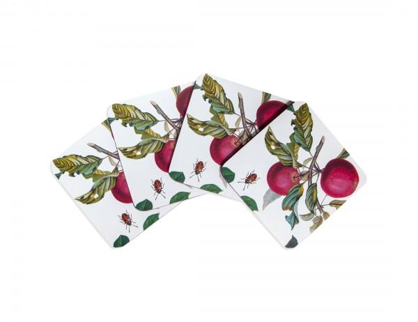 Ulster Weavers Untersetzer Fruits, weiß mit Frucht