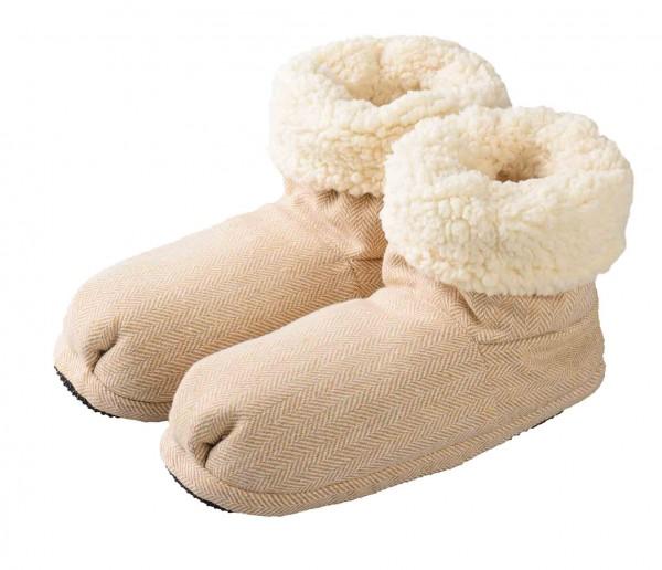 Warmies Slippes® Boots Comfort beige Gr. 37-41