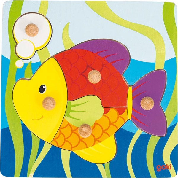 Gollnest & Kiesel Steckpuzzle Fisch