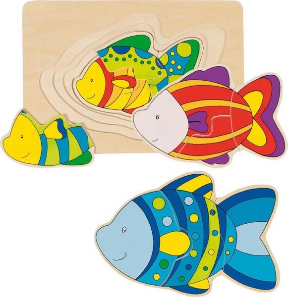 Gollnest & Kiesel Schichtenpuzzle Fisch