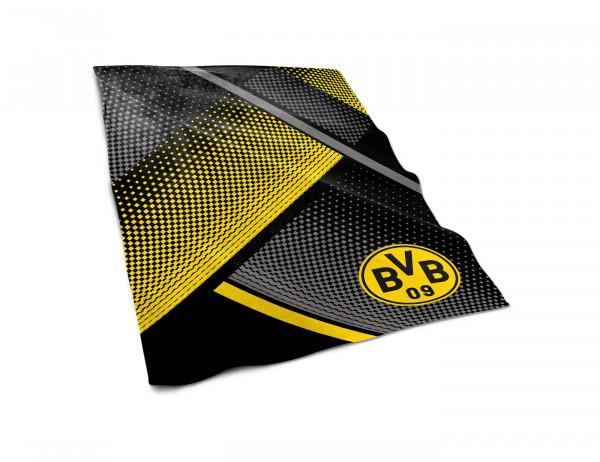 BVB Fleecedecke mit Punkten