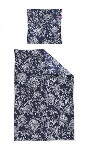Irisette Mako-Satin Bettwäsche Corado 8932 Blau