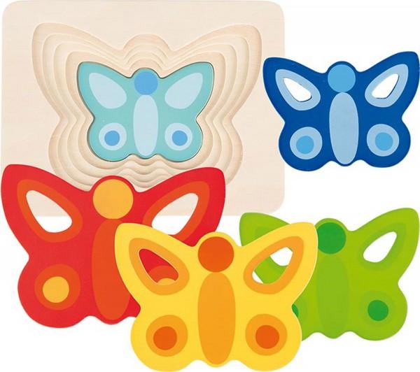 Gollnest & Kiesel Schichtenpuzzle Schmetterling II
