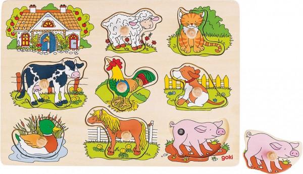 Gollnest & Kiesel Soundpuzzle Bauernhof mit Tierstimmen