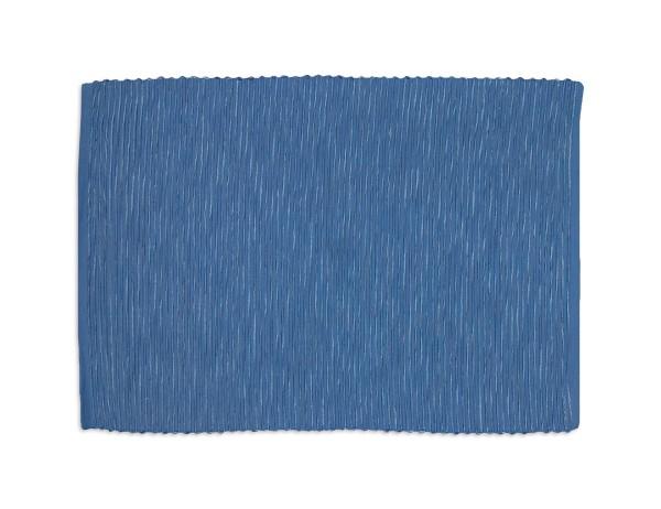 Sander Platzsets Breeze, uni. grün und blau, reine Baumwolle, Ripsgewebe