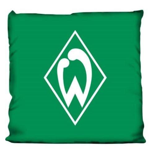 Werder Bremen Fan-Kissen Logo Raute