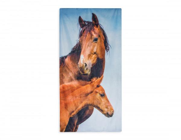 Badetuch, Duschtuch Pferde Portait