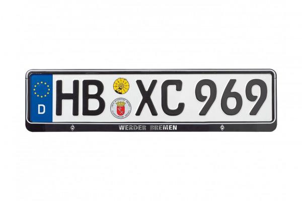 SV Werder Bremen Nummernschildhalter