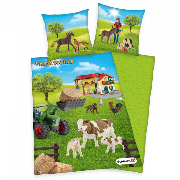 Kinderbettwäsche Farm World