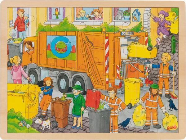 Gollnest & Kiesel Einlegepuzzle Müllabfuhr
