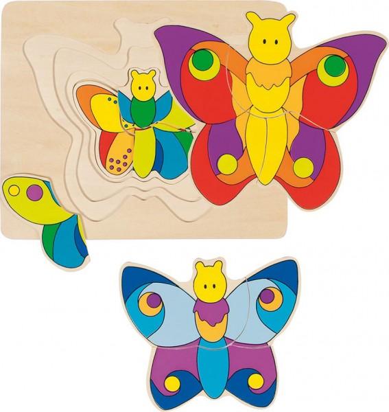 Gollnest & Kiesel Schichtenpuzzle Schmetterling
