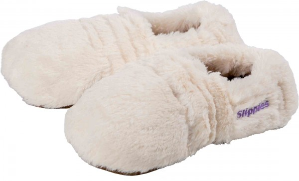 Warmies Slippes® Deluxe Creme Plush Gr. 36-40