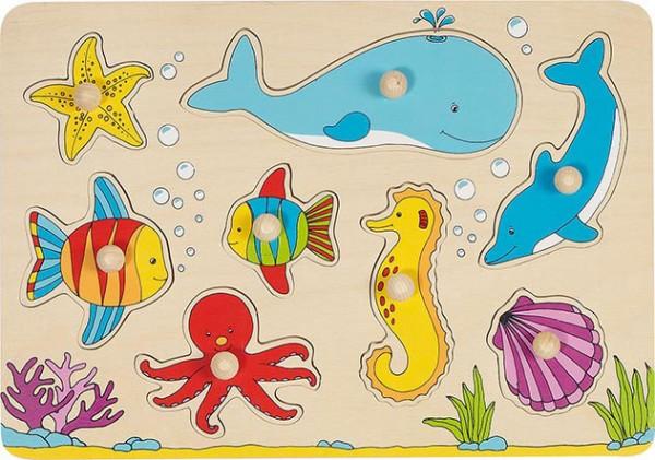 Gollnest & Kiesel Steckpuzzle Unterwasserwelt