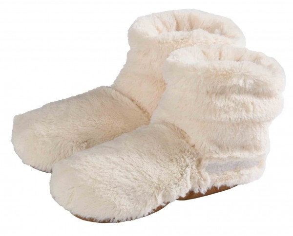 Warmies Slippes® Boots Deluxe beige Gr. 37-42
