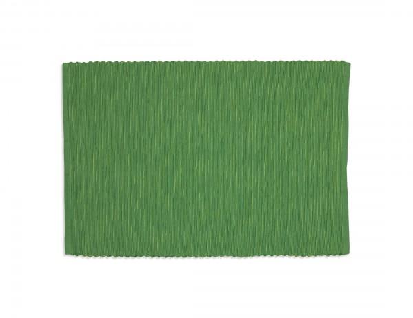 Sander Platzset Breeze, uni, blau oder grün, reine Baumwolle, Ripsgewebe