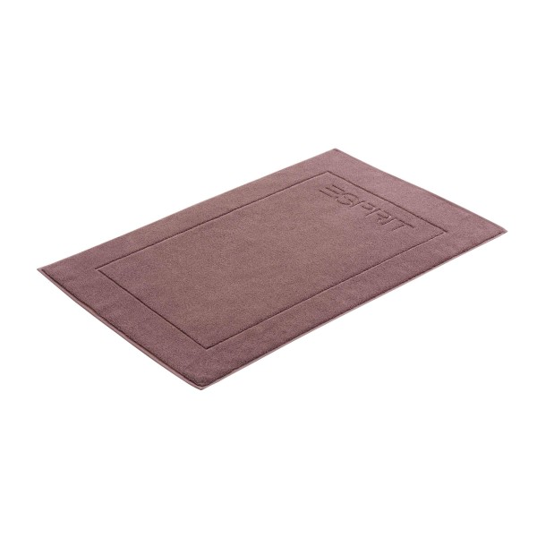 Esprit Badematte Solid dusty mauve - 833 60x90 cm