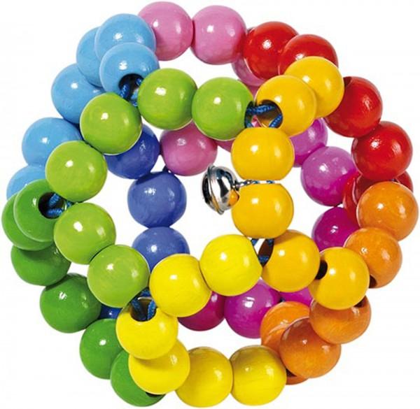 Gollnest & Kiesel Greifling Elastik Regenbogenball
