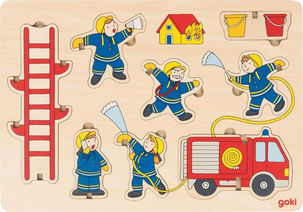 Gollnest & Kiesel Aufstellpuzzle Feuerwehr