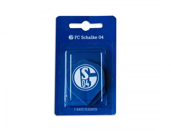 Dart Flight-Set FC Schalke 04 Signet