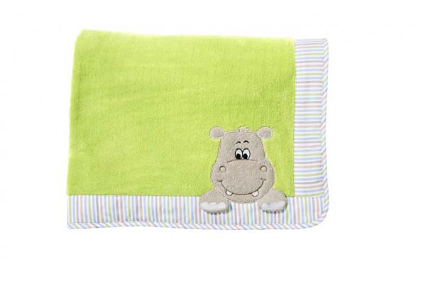 Morgenstern Decke Hippo grün